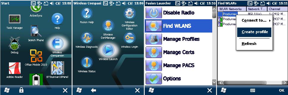 Setup a Windows scanner for Produmex Scan on Windows