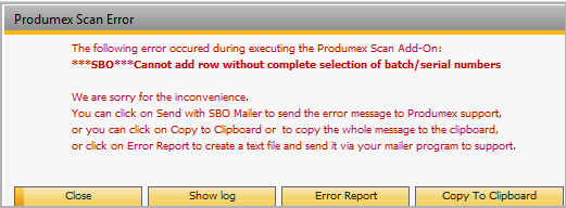 Produmex Scan Complete Support Guide []